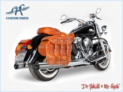 Bild von Jekill & Hyde Slip On Chrom f. Indian Chief Classic/Dark Horse/Vintage /ABE E3+E4